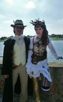 Steampunk Cosplay by strauseba