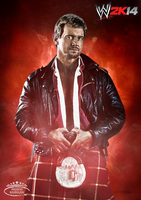 WWE 2K14 Card ~ Roddy Piper by MhMd-Batista