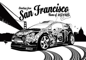 Gymkhana 5 Graphic by Gurnade