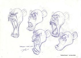 character expressions by davidsdoodles