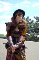 Anna Iva: Steampunk Inventor by EmmyLou