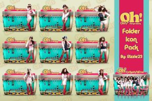 SNSD Oh Folder Icon Pack by Rizzie23