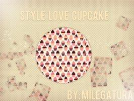 'Style Love Cupcake by Milegatura