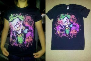 Joker T Shirt by theharmine
