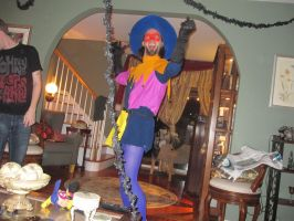 Clopin Trouillefou and Puppet Clopin 2 by techaspike