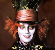 THE MAD HATTER by vampirekingdom