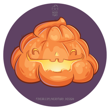 Poopkin turd by NerdTurd-Design
