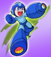 Happy Birthday Mega Man! by AndrewDickman
