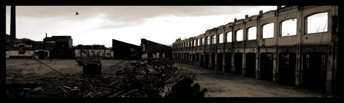 post war panoramic by violentinephoto