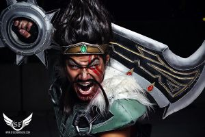 League of Legends: Draven In Your Face by SFDesign21