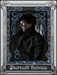 Art Nouveau Sherlock Blue by Nero749