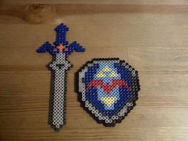 Links Master Sword and Shield2 by FatalJapan