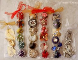 Packaged jewelry magnet sets by janedean