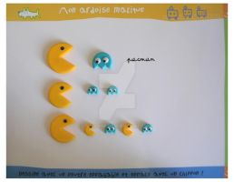 Fimo pacman invasion by yen-hm