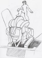G1 Wheeljack and Faust by fanatical-chick