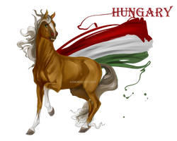 Horse Hetalia:  Hungary by Moon-illusion