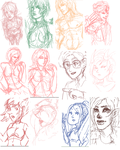 iScribble Sketches 57 by LippyTappyTooTa