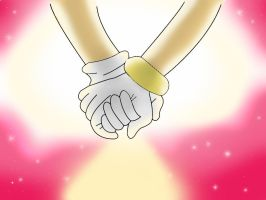 SonAmy Hand in Hand forever D by Yumidun
