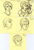 Post-It Doodles Page5 by leighanief