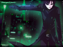 Darker than Black : Under the rain by DarkNyash