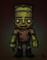 Frankenstein's Monster by rubr