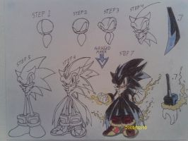 How to draw Lord Cryo by THEATOMBOMB035