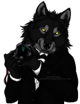 TuxedoWerewolf Bust 1 by sugarpoultry