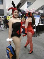 Bunnies at Wondercon by miss-kitty-j
