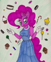 Pinkie Pie and the Sweets by newyorkx3
