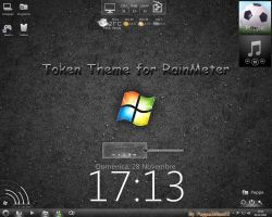 Token Theme for Rainmeter by peppemilan22