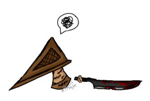 Chibi - Pyramid Head by Lipah33