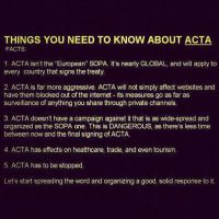 Re-Post STOP ACTA this WILL affect you!!! by Okitakehyate
