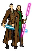 SW Couples: Kento and Mallie by LadyIlona1984