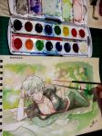 Ginko (watercolor) by blueprince312