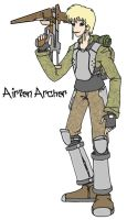 Airfen Archer by CarrionTrooper