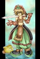 Legend of Mana:crazy boy by NEPi