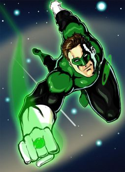 Green Lantern by alfred183