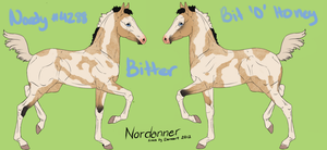 Nordanner Foal 4288 Design by bubbIies