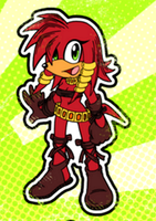 My Character: Khepris the Echidna by Project--Xeta