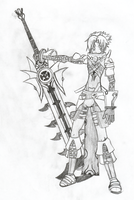 Haseo 2nd form by Sonalchagi