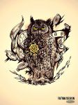 Tattoo design_The Master of time by DZIU09