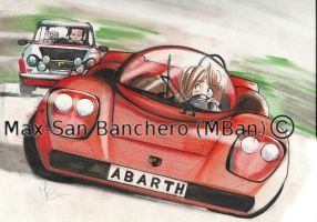 Fiat  Abarth 2000 (1967) vs. Autobianchi A112 by Maxmilian1983