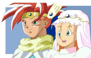 Crono + Marle wedding by omegajjj