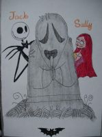 Jack and Sally by BatPumpkin