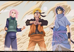 Naruto 632 - Team 7 ! - Collab by Shinsekai94