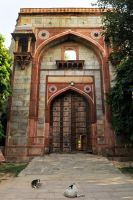Old Gate 1 - Humayun's Tomb, Delhi by wildplaces