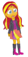 Sunset Shimmer by the-original-unicorn