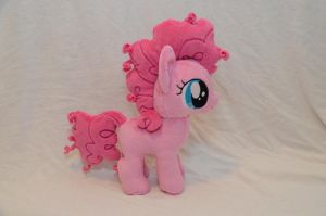Filly Pinkie Pie Plush by makeshiftwings30