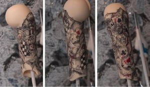 Doll's tattoo part - Alice Madness Return by SaikoXIX