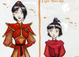 Now and Then: Rei by Isaia